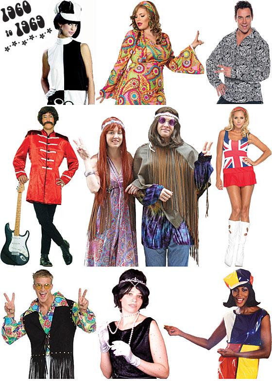 1960s Costumes