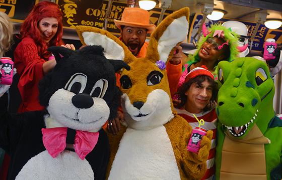 Halloween at Boston Costume