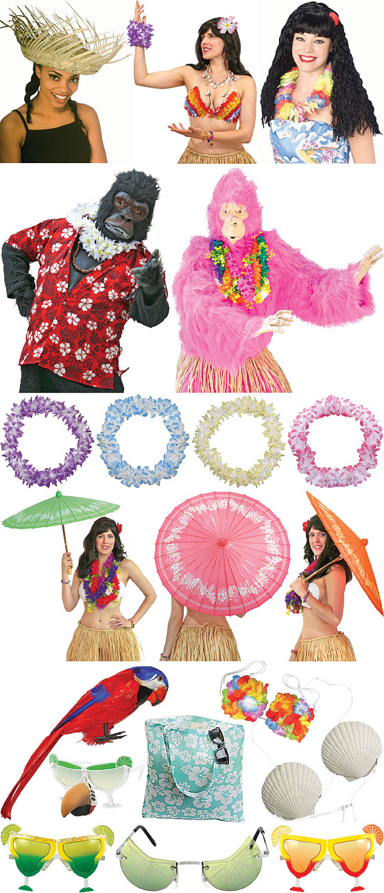 Hula and Luau Costumes