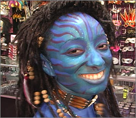 avatar makeup tutorial at boston costume