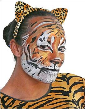 Tiger Makeup Tutorial at Boston Costume