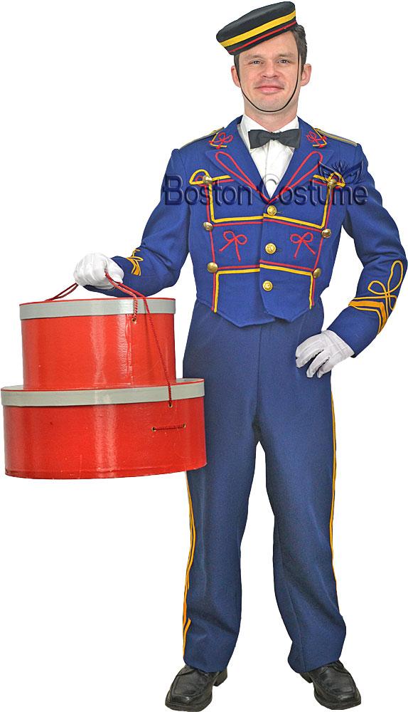 Bellhop Costume at Boston Costume