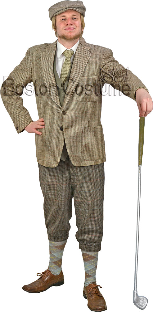 Golfer Costume At Boston Costume