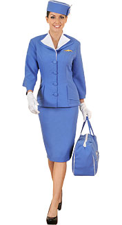 1960's Flight Attendant Costume