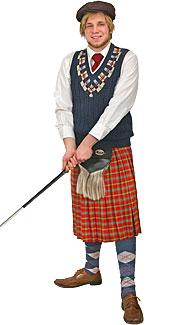 Golfer Costume