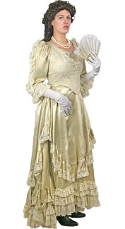 Victorian/Bustle Woman Costume