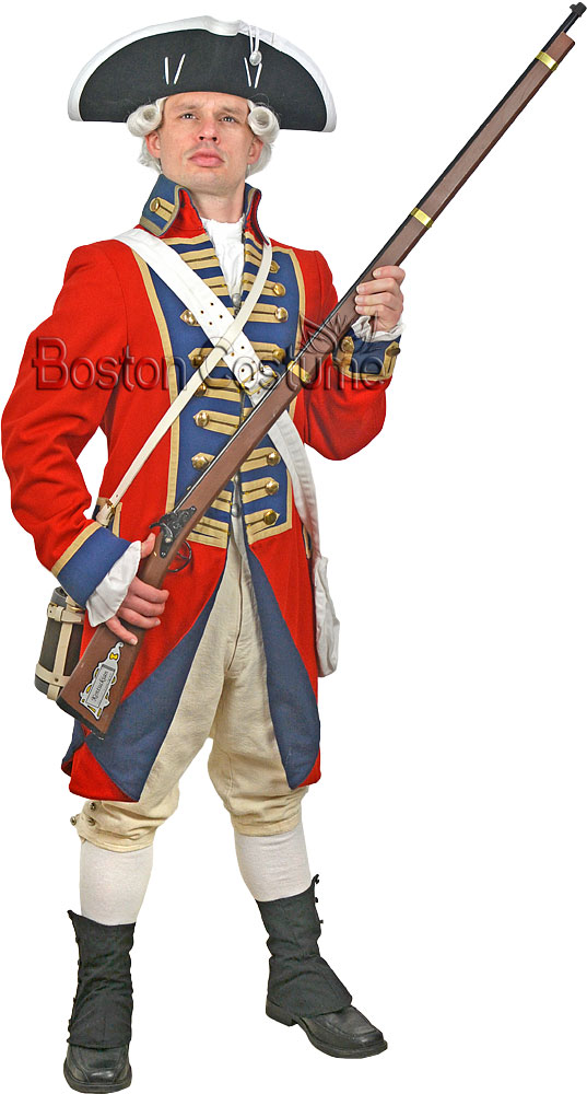 18th Century/Colonial Man Costume  sc 1 st  Boston Costume : british colonial soldier costume  - Germanpascual.Com