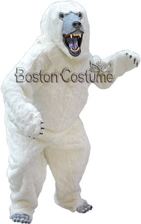Deluxe Polar Bear Costume At Boston Costume