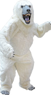 Deluxe Polar Bear Costume