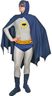1960's Caped Crusader Costume