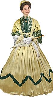 Victorian/Crinoline Woman Costume