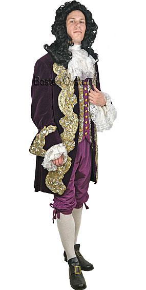 Deluxe 17th Century Man Costume