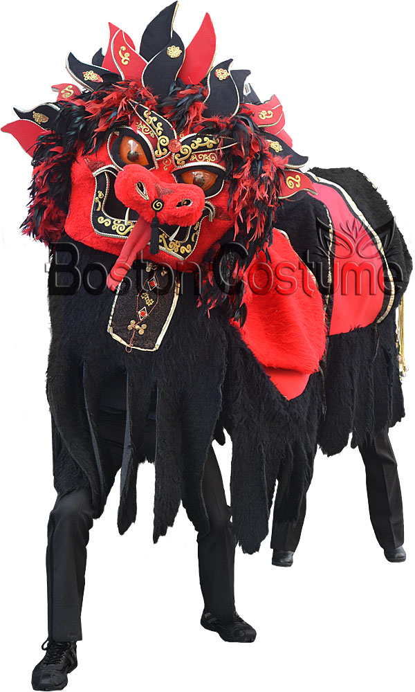 Red and Black Chinese Dragon Costume  sc 1 st  Boston Costume & Red and Black Chinese Dragon Costume at Boston Costume