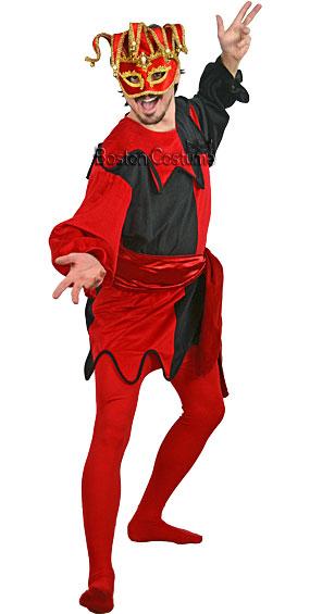 Jester Rental Costume