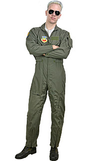 U.S. Navy Pilot Rental Costume