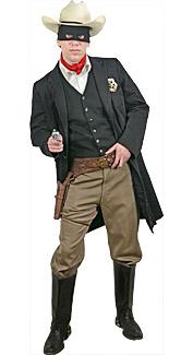 Masked Ranger Rental Costume