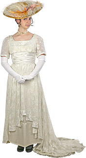 Victorian/Edwardian Woman Rental Costume