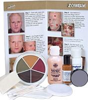 Zombie Premium Makeup Kit by Mehron