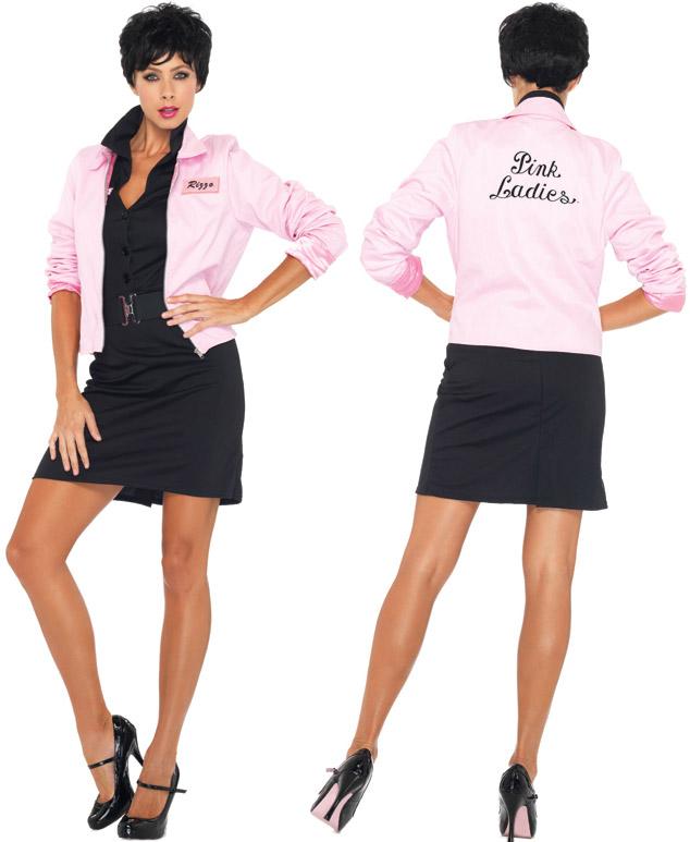 31e199713048 Pink Ladies Logo Jacket at Boston Costume