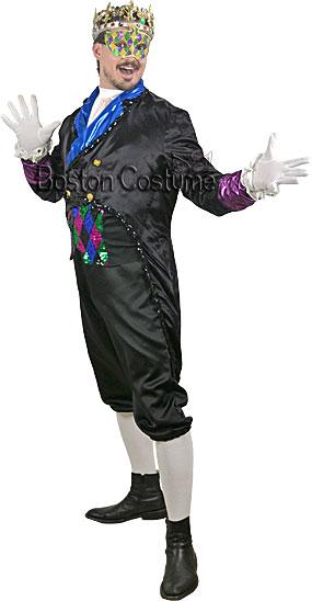 Mardi Gras King Rental Costume