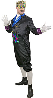 Mardi Gras King Rental Costume