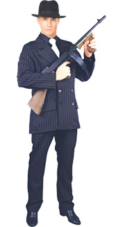 Gangster Suit Costume by Charades
