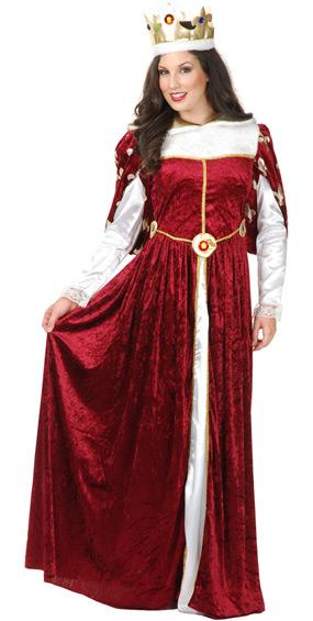 Queen's Gown Costume