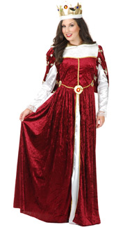 Queen's Gown Costume