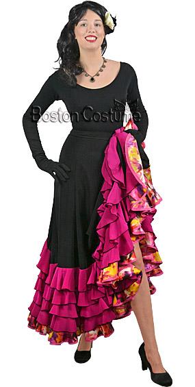 Rumba Dancer Rental Costume