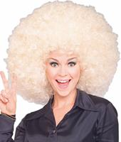 Blonde Super Afro Wig by Rubies