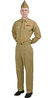 World War II U.S. Army Soldier Rental Costume