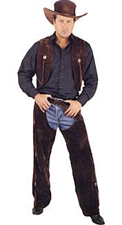 Chaps & Vest Costume