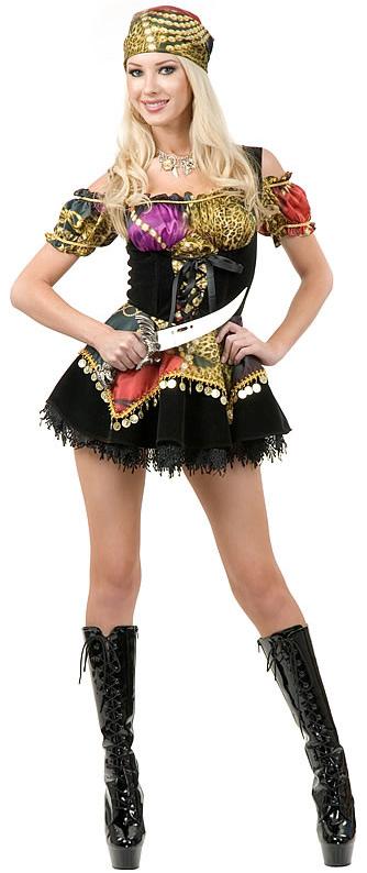Gypsy Pirate Costume  sc 1 st  Boston Costume & Gypsy Pirate Costume at Boston Costume