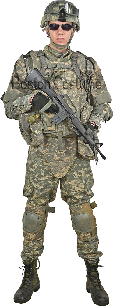 8cc043111a8 Deluxe U.S. Army Combat Soldier Costume at Boston Costume