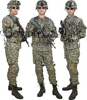 U.S. Army Combat Soldier Rental Costume