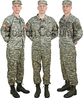 U.S. Army ACU Soldier Costume