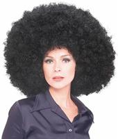 Black Super Afro Wig by Rubies