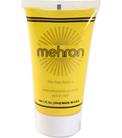 Fantasy F/X Liquid Makeup in Yellow by Mehron