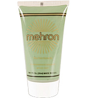 Fantasy F/X Liquid Makeup in Liberty Green by Mehron