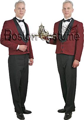 Waiter Rental Costume