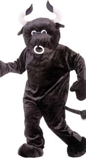 Bull Mascot Costume