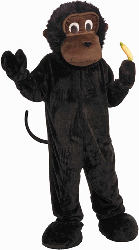 Gorilla Mascot Costume