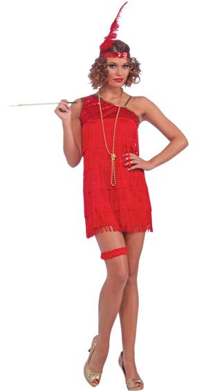 Ruby Dazzle Flapper Costume