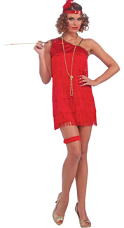 Ruby Dazzle Flapper Costume