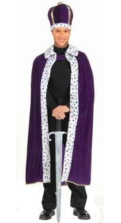 King Costume in Purple