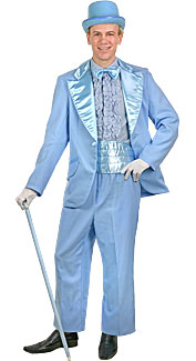Powder Blue Tuxedo Costume at Boston Costume
