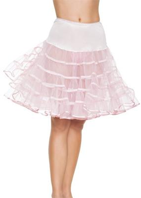 Mid-Length Pink Petticoat