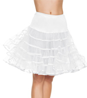 Mid-Length Petticoat in White