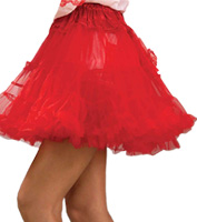 19 Crinoline in Red