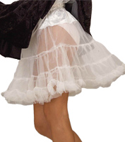 19 Crinoline in White